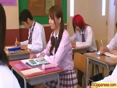 Asian In School Uniform Get Hard Sex video-11