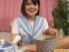 Asian In School Uniform Get Hard Sex video-05
