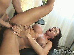 Arielly Ferrera gets hot and wild with this rock hard meat stick.