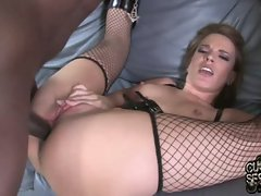 Dana De Armond horny slut get hard butt-fuck on couch