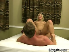 Blonde Cheating Housewife Fucked On A Hidden Camera