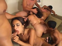 Super Freak Brazilian Orgy with Little People