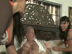 Yuki Mori and Jessica Bangkok - White Stepdaddy
