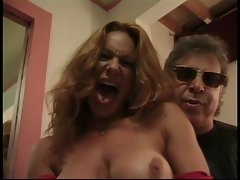 Lucky old guy blown by 2 hotties