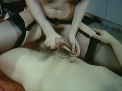 Sexy Vintage video of hot sex stockings and fur