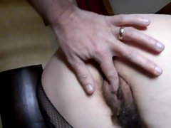 i caress my hairy pussy&,#039,s wife