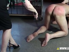 Hamburgs Finest Torture Punished by 2 Mistresses