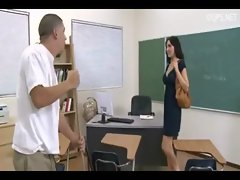 Licking pussy of my teacher Diana Prince