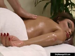 Sexy Big Tit Babes Fucked by Horny Masseur 13