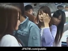 Cute Japanese Teens Expose In Public 22