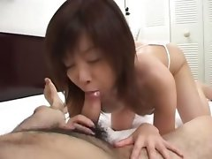 duo asians fucking ass and making blow