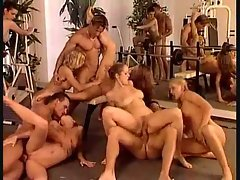 An orgy stuffed with gorgeous Euro girls