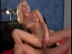 Super skinny young lady has hardcore sex