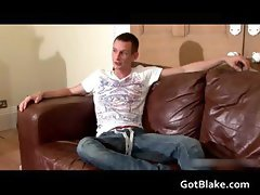 Ricky J masturbating on a sofa part5
