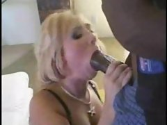 Huge black cock fucking her tight asshole