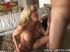 Milf cocksucker becomes a cock taker too