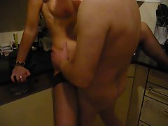 Fun with white bull (cuckold)
