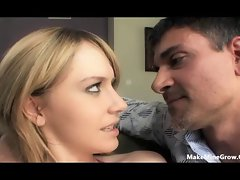 Kelly Klass - ride a huge dick and got creampie-1