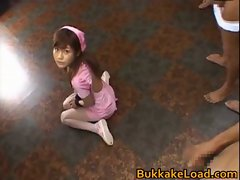Hime Kamiya Asian teen in hard