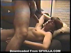 Lustful dude disturb the sleep of her pretty milf girlfriend for do this cumshot (new)