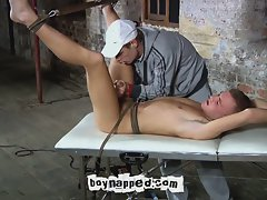 Young mylo's balls get busted hard