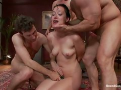 Kimberly Kane degrades herself sexually in order to get hired at a...