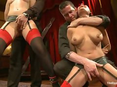 Dannika is made air tight by the House slaves during our monthly...