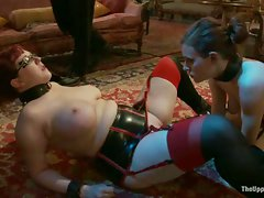 House slaves robot and grace kick off the hitachi ban with a romp on...