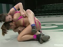 Two tough street girls go head to head in non-scripted wrestling to...