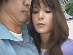 The bus was so hot - Japanese bus 10 - Horny go-betweens!!