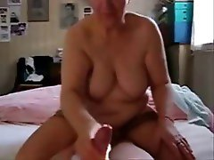 My horny mature mum jerkinng dad. Stolen video