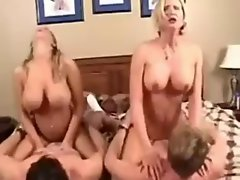 Amber Lynn Bach & Desirea in a great Foursome