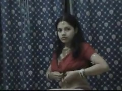 Desi Wife Being Filmed By Her Lucky Husband