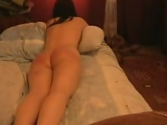 Girl caned at home