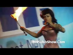 Exxxotica Chicago Series P1 Fire Eating Hoe