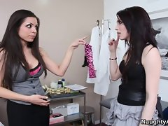 Aiden Ashley and Yurizan Beltran Fight Then Lick Eachother