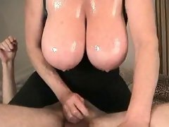 April34FF Big Tit Vasoline Handjob
