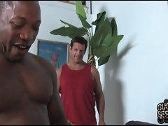 Aurora Snow go black in front of cuckold husband