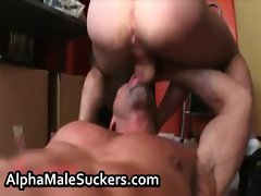 Awesome gay hardcore fucking and sucking gay porn