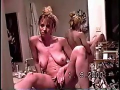 Christy Canyon at home