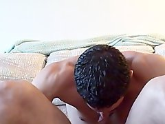 Amateur Straight Chap Licks OWN Penis and SPREADS Dirty ass ...HOLY SHIT !! Filthy !!