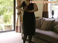 Big beautiful woman English Mummy Mummy Dirty wife In Pantyhose With Awesome Mega big melons Mastubates