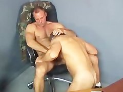 Military Daddy Sergeant Rides Recruit