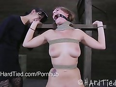 Submissive Alisha Adams and Domina Elise Graves Play Wild