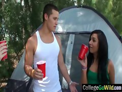 College Vixens Randy chicks Luxuriate Group Sex video-33
