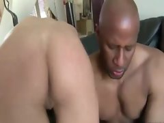 Sexual white mommy gets ebony pecker banging and loves it