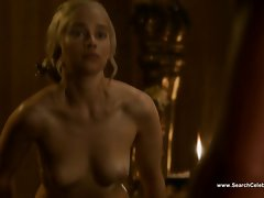 Emilia Clarke nude - Game of Thrones S3E8