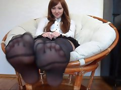 Gorgeous Wench Sweet Nylonfeet 23
