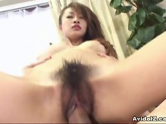 Top heavy Seductive japanese slutty girl gets banged wild