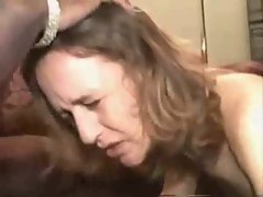 Amateur Slutty wife Gets Three Ebony Phalluses !